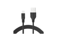 SMS-BT09 ECL Somostel kabel lightning 3,1A QC 3,0 1M black box