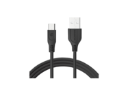SMS-BT09 ECL Somostel microUSB cable 3,1A QC 3,0 1M black box