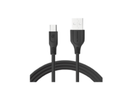 SMS-BT09 ECL Somostel Typ-C cable 3,1A QC 3,0 1,2M black box