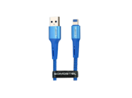 SMS-BW06 Somostel lightning cable 3,6A QC 3,0 1M blue box