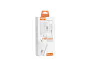 SMS-Q02 Somostel wall charger 3A 18W + lightning cable white box