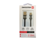 SWISSSTEN cable USB-C 3.1 2m black retail