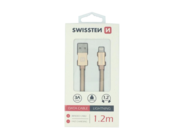 SWISSTEN cable Lightning 1,2m gold box