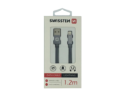 SWISSTEN cable Lightning 1,2m grey box
