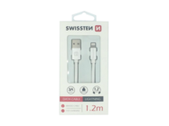 SWISSTEN cable Lightning 1,2m silver box