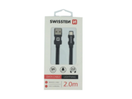 SWISSTEN cable Lightning 2m black box