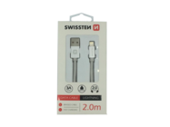 SWISSTEN cable Lightning 2m silver box