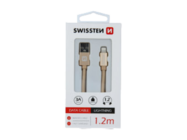 SWISSTEN cable MicroUSB 1,2m gold box