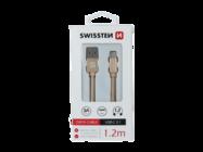 SWISSTEN cable Type-C 1,2m gold box