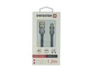 SWISSTEN cable Type-C 1,2m grey box