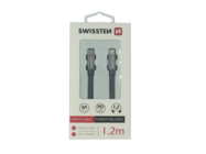 SWISSTEN cable USB-C/Lightning 1,2m grey retail