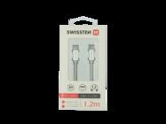 SWISSTEN cable USB-C/USB-C 1,2m silver retail