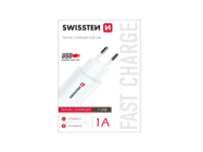 SWISSTEN charger 1A white box