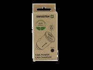 Swissten charger 2x USB 4,8A metal ECO PACK black box