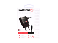 SWISSTEN charger black box + Micro USB cable