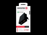 SWISSTEN charger QC 3.0 23W black box