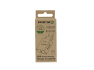 Swissten wall charger PD 25W IPHONE & SAMSUNG ECO PACK white box