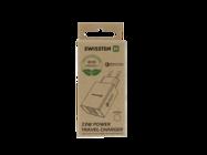 Swissten wall charger QC 3.0 23W 2x USB + USB ECO PACK white box