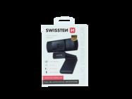 Swissten webcam FHD 1080P black box