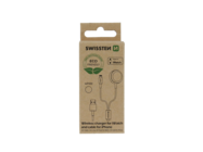 Swissten wireless charger 2in1 iWATCH and IPHONE LIGHTNING ECO PACK box