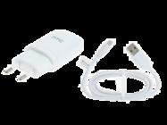 TC-E250 HTC charger white + cable bulk