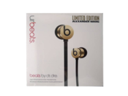 UrBeats headset black gold limited box
