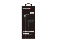 YS-D2 SWISSTEN headset black retail