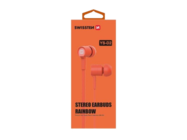 YS-D2 SWISSTEN headset orange retail