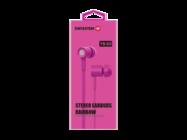 YS-D2 SWISSTEN headset pink retail