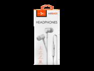 zestaw słuchawkowy AIRBASS- biały